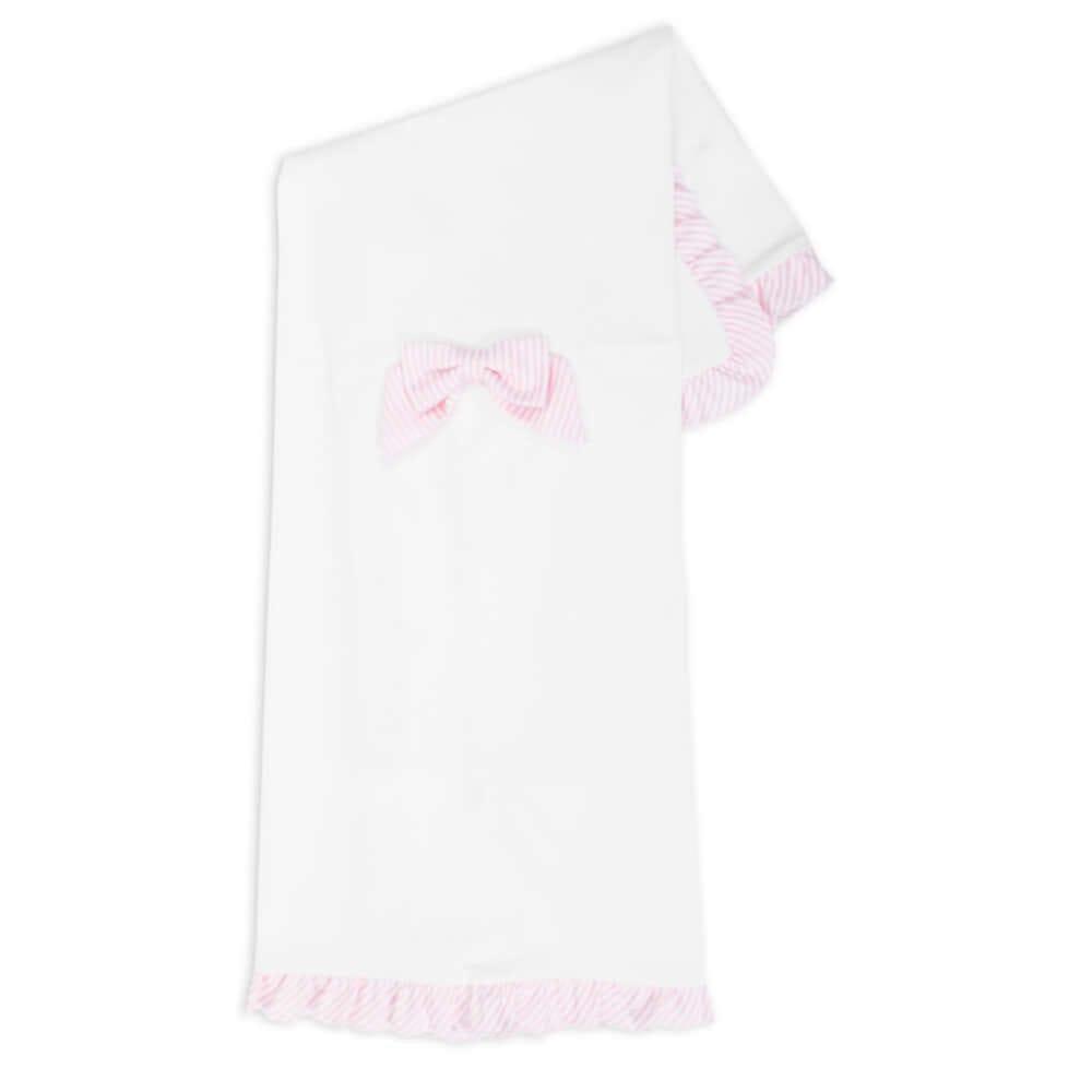 copertina-culla-femmina-fiocco-popeline-rigato-rosa